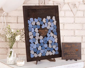 wedding guest book alternative drop box wedding guestbook alternative