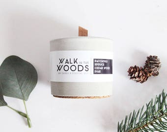 "Soy Candle ""Walk in the Woods"""