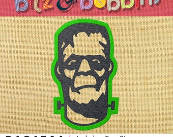 Frankenstein Machine Embroidery Design
