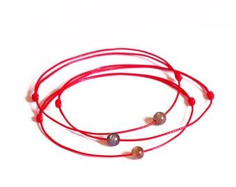Red String Bracelet, Labradorite bracelet, Kabbalah bracelet, Evil eye bracelet, Amulet bracelet, Protection bracelet, Friendship Bracelet
