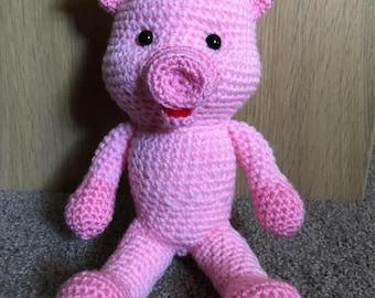 Crochet Pig Teddy