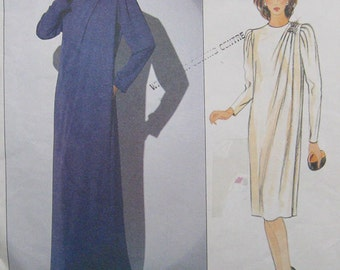 Vogue American Designer Dress Pattern Jerry Silverman 1117