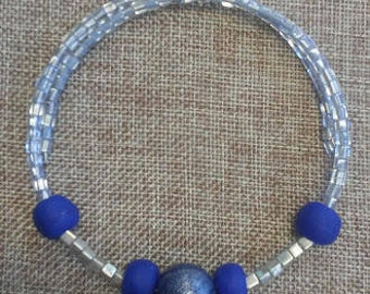 Memory Wire Choker Necklace