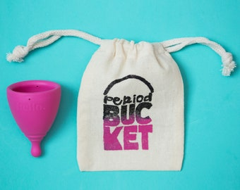 Period Bucket Menstrual Cup Pouch