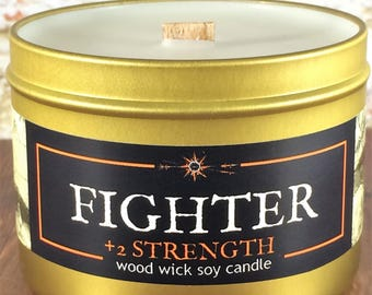"""FIGHTER RPG Candle 