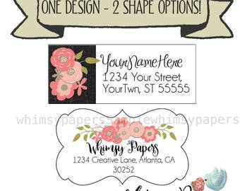 Return Address Label, Family Return Address labels,