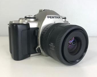 vintage Pentax ZX-M 35mm film camera