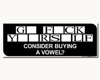 Consider Buying a Vowel?