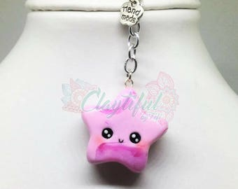Kawaii Star Keychain