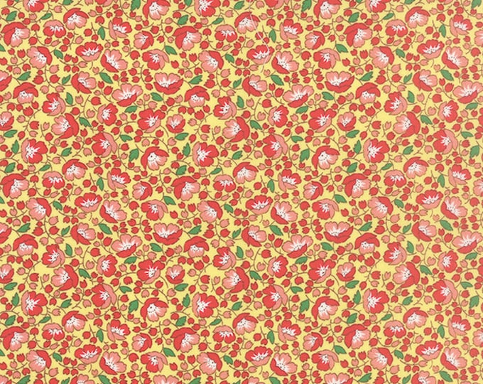 Chloe's Closet for Moda Fabrics, 30's Playtime 2015 Buttercup 33041 12