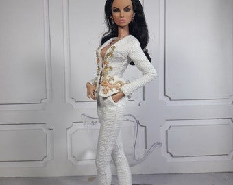 """TWEED COUTURE - Fashion for Fr2, Barbie and the same size 12"""" Doll"""