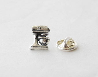 Baker Gifts, Mixer Pin, Baking Mixer Brooch, Baking Pin, Baker Pin, Baking Gifts, Baking Tie Clip, Cook Gifts, Chef Gifts, Tie Tack Pin