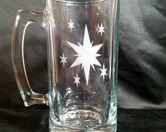 Princess Twilight Sparkle Inspired Etched Mug