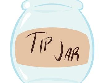 Tip Jar Spread Love