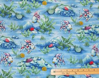 Marcus fabric - the rainbow fish R11-9749-0719
