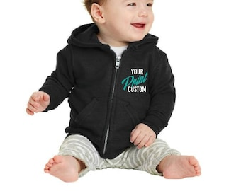 Custom Embroidery Baby Hoodie for Russell