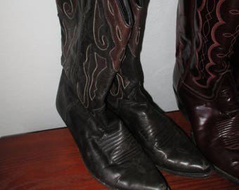 Sale! Vintage Cowboy Cowgirl Pointy Boots 1980s