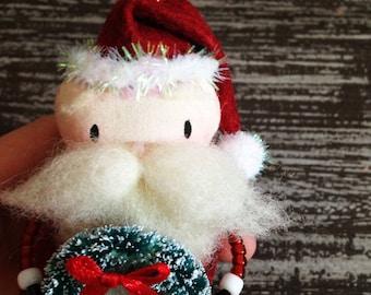 Classic Santa Ornament