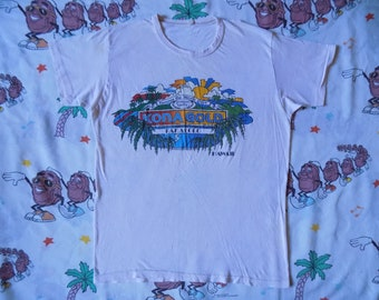 Vintage 70's Kona Gold Pakalolo Hawaii T shirt, size Small pot leaf Stoner Hippy threadbare