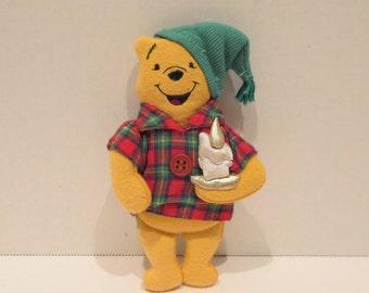 Winnie The Pooh Plush Ornament By Disney