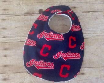 Cleveland Indians Infant Bib