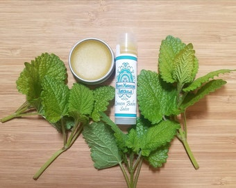 Lemon Balm Salve-Melissa officinalis-*Soothing*Cold Sore Care