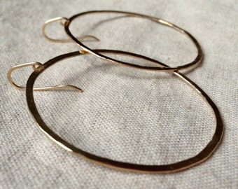 14 Karat Gold Fill hoops