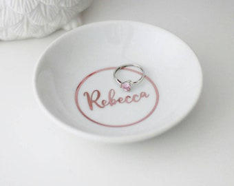 Wedding ring dish Etsy
