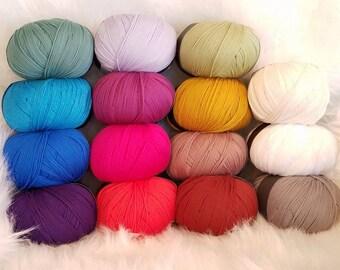 Bella Mano, Silk and Modal Blend, Stretchy Yarn