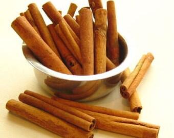 10 - 2.75 inch Cinnamon Sticks - Bulk Cinnamon Sticks - Dried Cinnamon - Bulk Herbs - Bulk Flowers - Cinna Stick