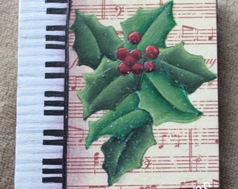 Christmas Keyboard - Decorative Painting Pattern ePacket