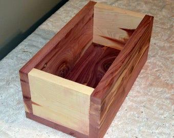 Cedar Box, Cedar Flower Box, Cedar Planter Box