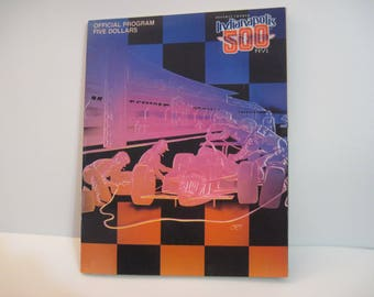 Indianapolis 500 race program from 1990 195 pages excellent condition