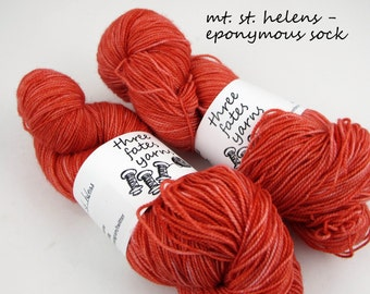mt. st. helens - eponymous, fingering weight yarn