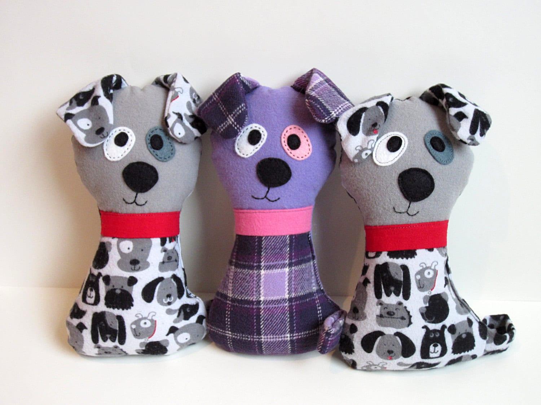 Dog pattern scruffy the stuffed doggie pdf sewing pattern zoom jeuxipadfo Images
