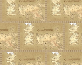 Hbo game of the thrones fabric game of thrones map of map fabric game of thrones cotton quilt fabric by the yard map of westeros gumiabroncs Images