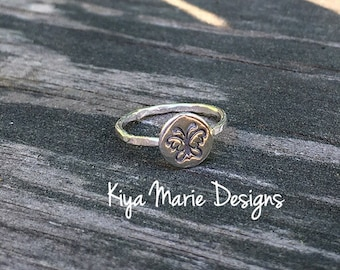 Butterfly jewelry, silver butterfly ring, Skinny band stack ring, Sterling Silver Argentium Silver Stack Rings, Nature butterfly rings