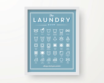 Stain Removal Basics print Instant download Laundry room