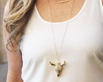Horn-Arrowhead Necklaces