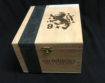 Cigar Box | Jewelry Box | Memory Box | Keepsake Box | Storage Box
