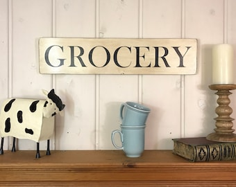 """Grocery sign 