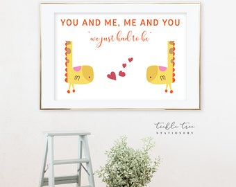 Art Print - Our Love Connection, Family (W00006)