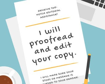 Copy Editing, Proofreading, SEO Services | I Will Carefully Proofread, Edit, and Provide SEO Feedback on Your Work Up to 15,000 Words