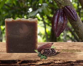 Vegan Cacao Handmade Soap - Natural Pie Soap (20g, 100g, Promotion, Wholesale)