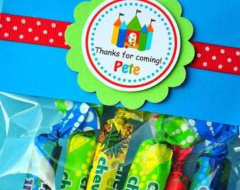 Bounce House Favor Bags, Gift Bags, Bounce House Birthday Party