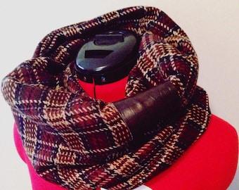 SALE - winter infinity scarf