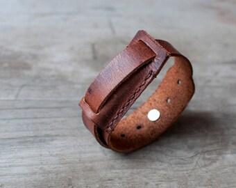Leather Fitbit Flex 2 bracelet, adjustable fitbit flex 2 band, fitbit flex 2, fitness band, simble bracelet, minimalistic band, leather band