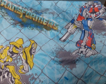 Transformer  autobot rescuebots vintage Novelty twin fitted sheet crafter