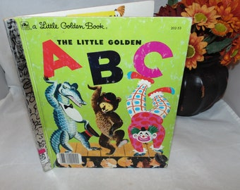Vintage 1979 The Little Golden ABC book Hardcover