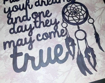 COMMERCIAL PAPERCUT TEMPLATE | Put your all into your dreams